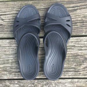 CROCS Kelli sandal in black